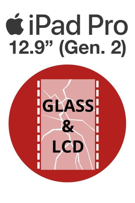 """iPad Pro 12.9"""" (Gen. 2) Glass & LCD Repair"""