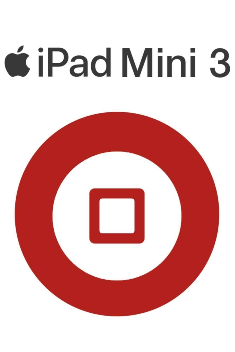 iPad Mini 3 Home Button Repair