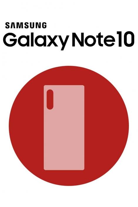 Galaxy Note 10 Back Glass Repair