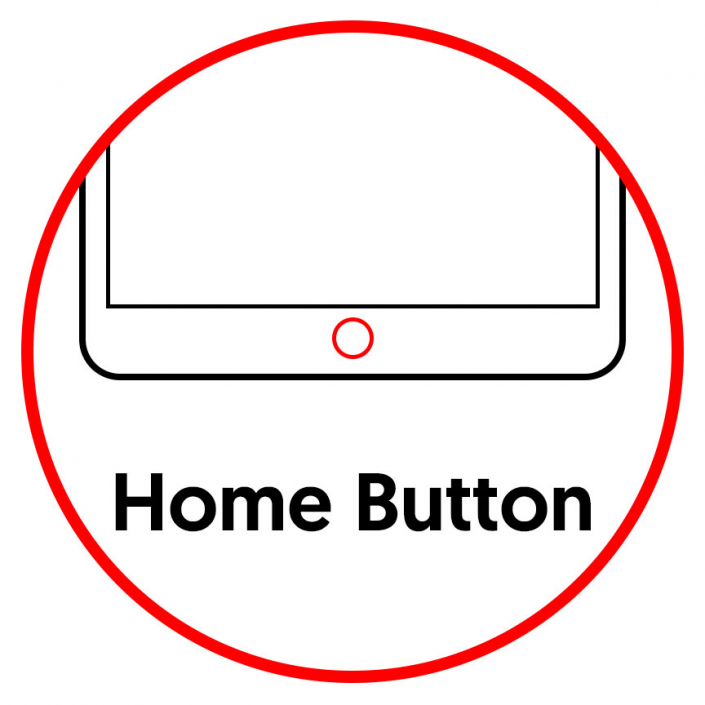 """iPad 7 10.2"""" 2019 Home Button Replacement"""